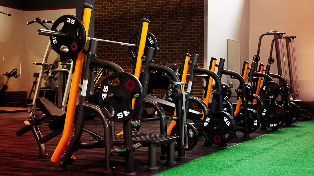 Benchpress - Performance 360 Fitness - 42 North